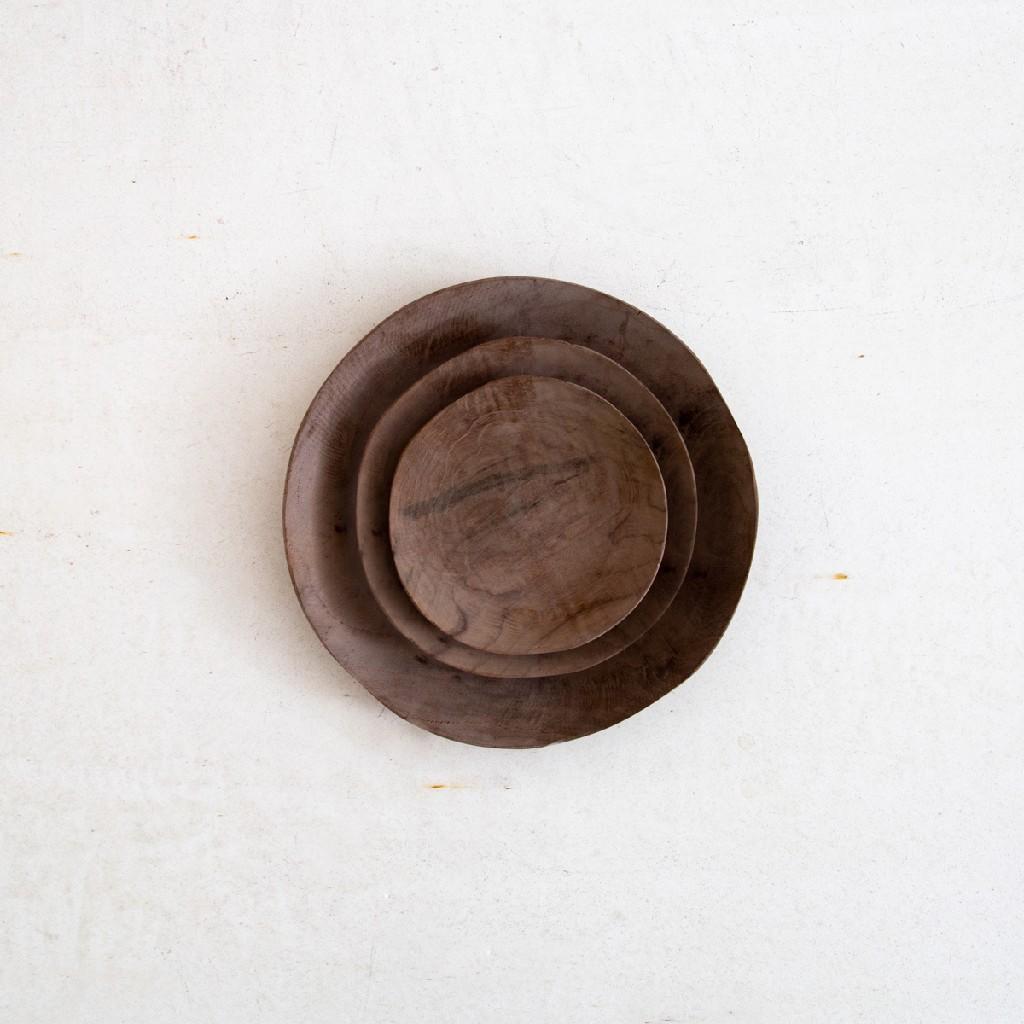 cuencos de madera de diseño