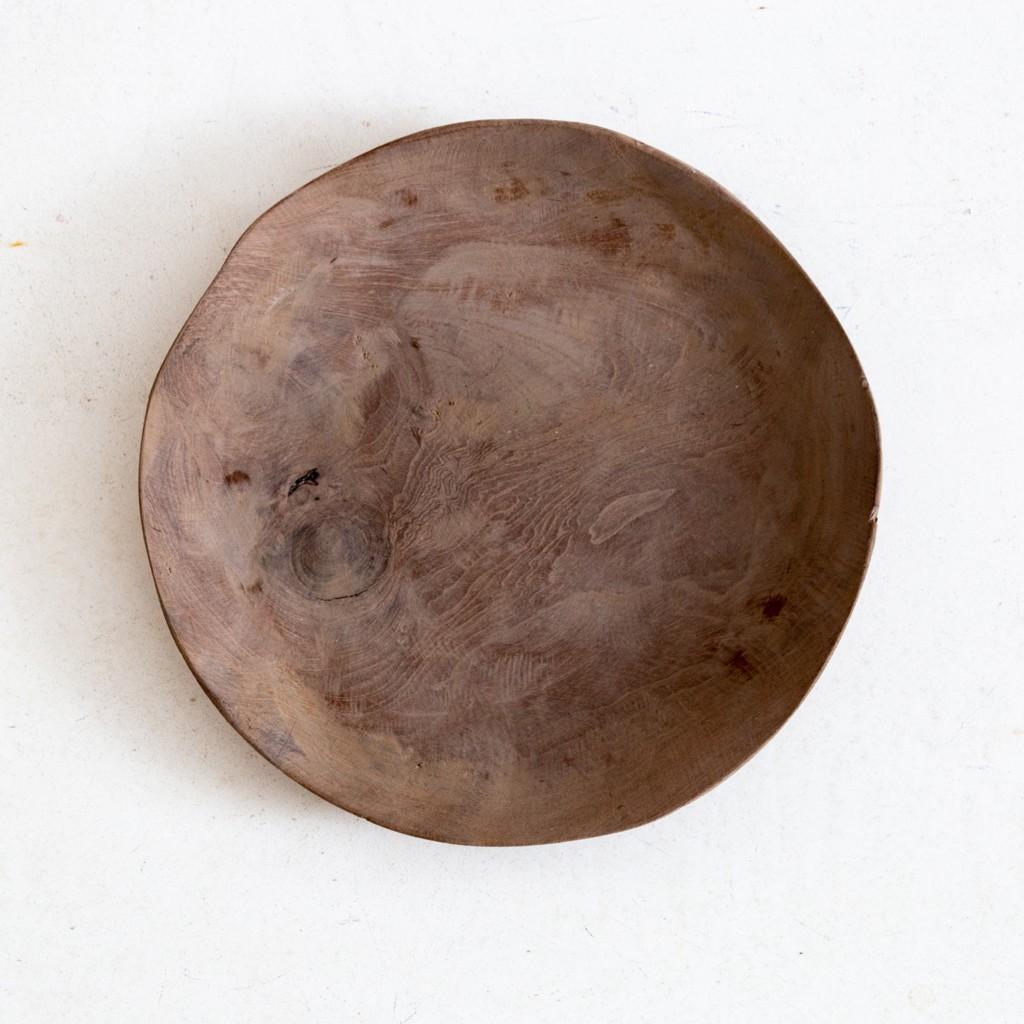 cuenco de madera de diseño