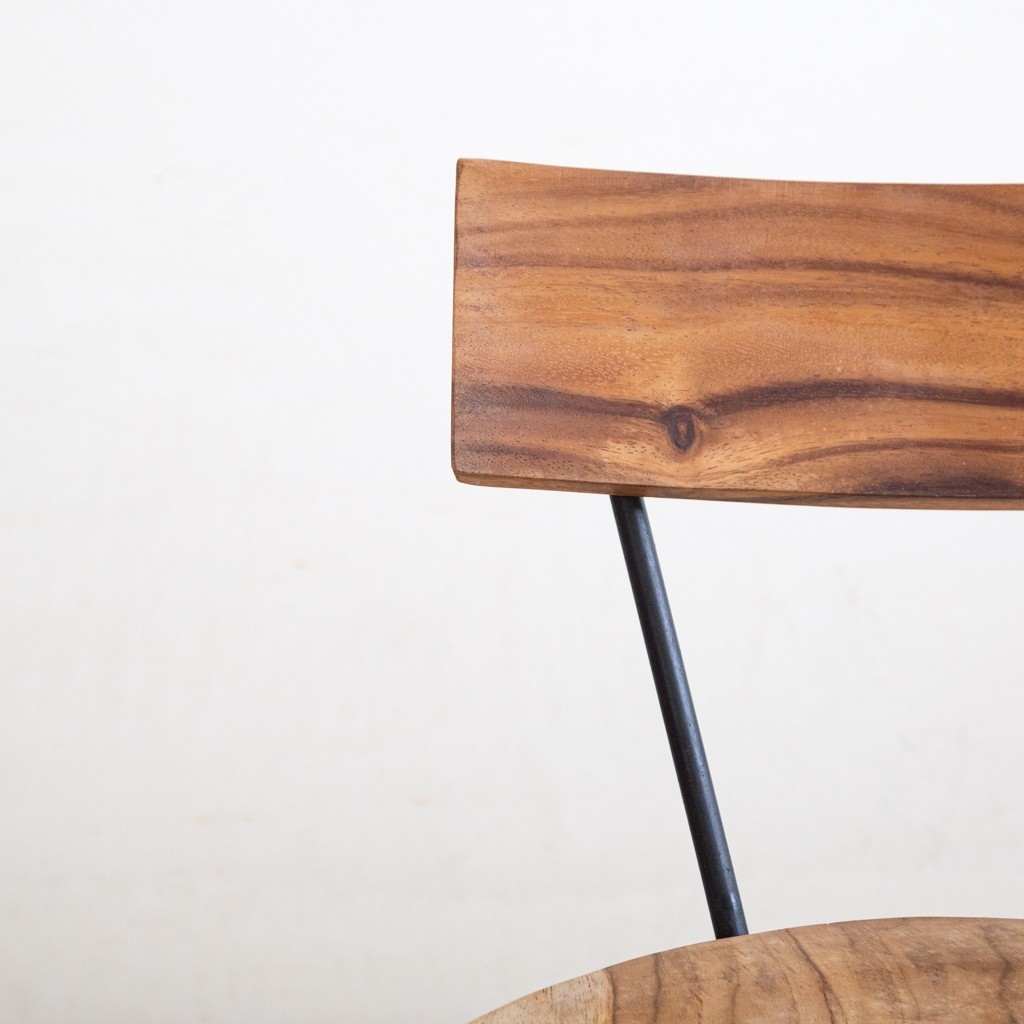 taburete madera alto