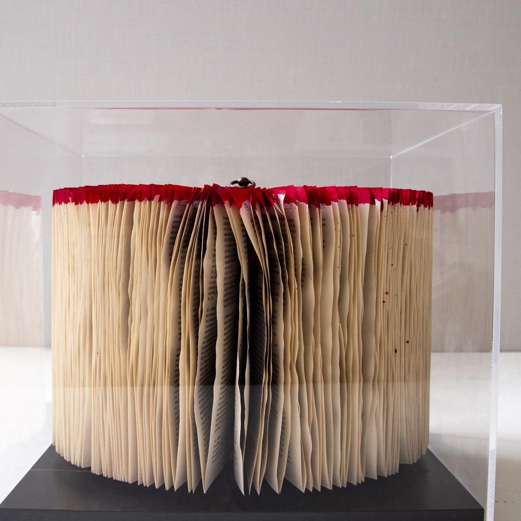 escultura libro de diseño