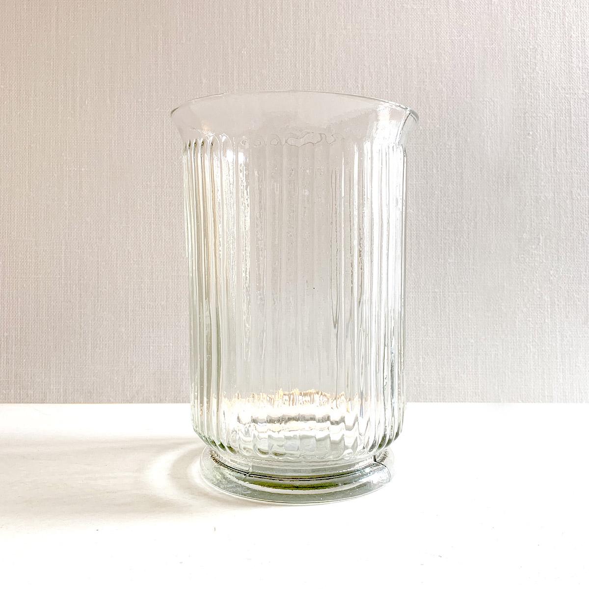 jarron de cristal