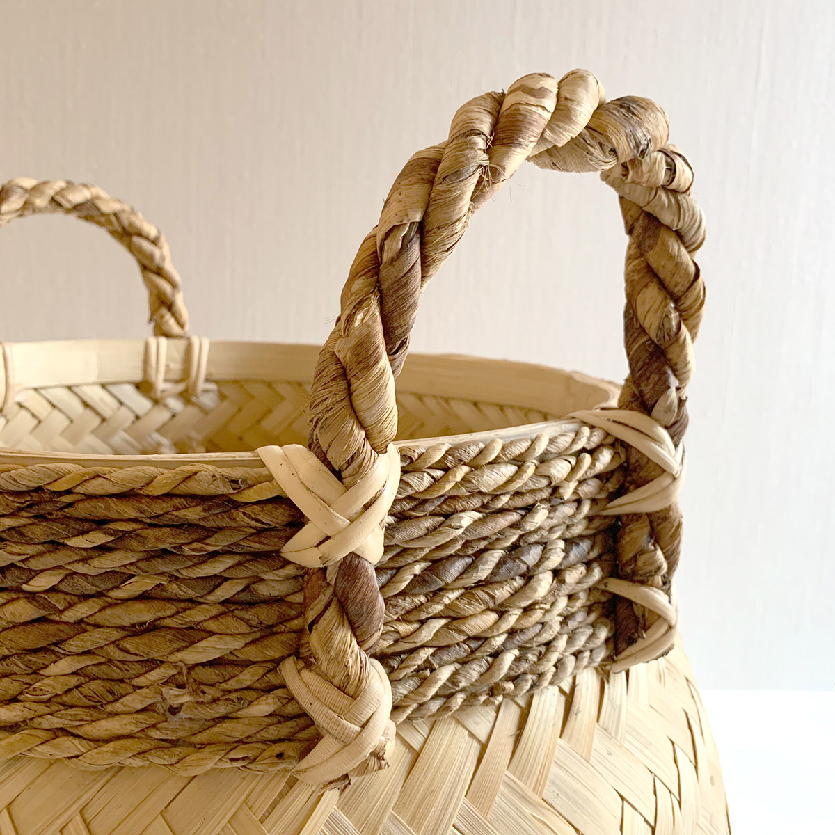 cestos de bambu