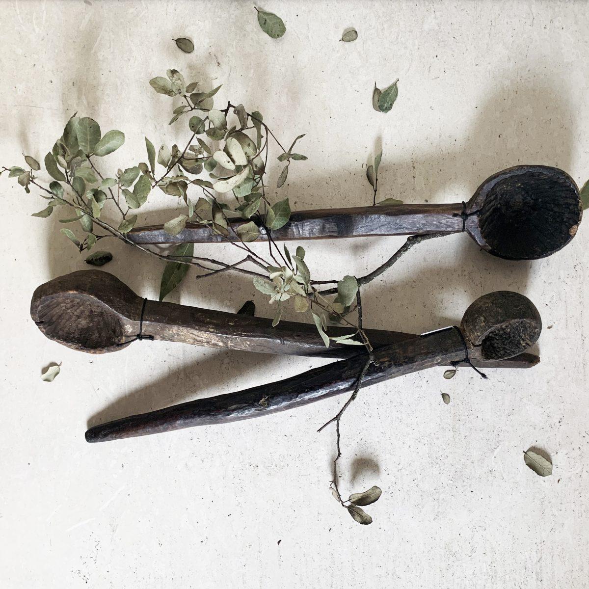 cuchara de madera de decoracion