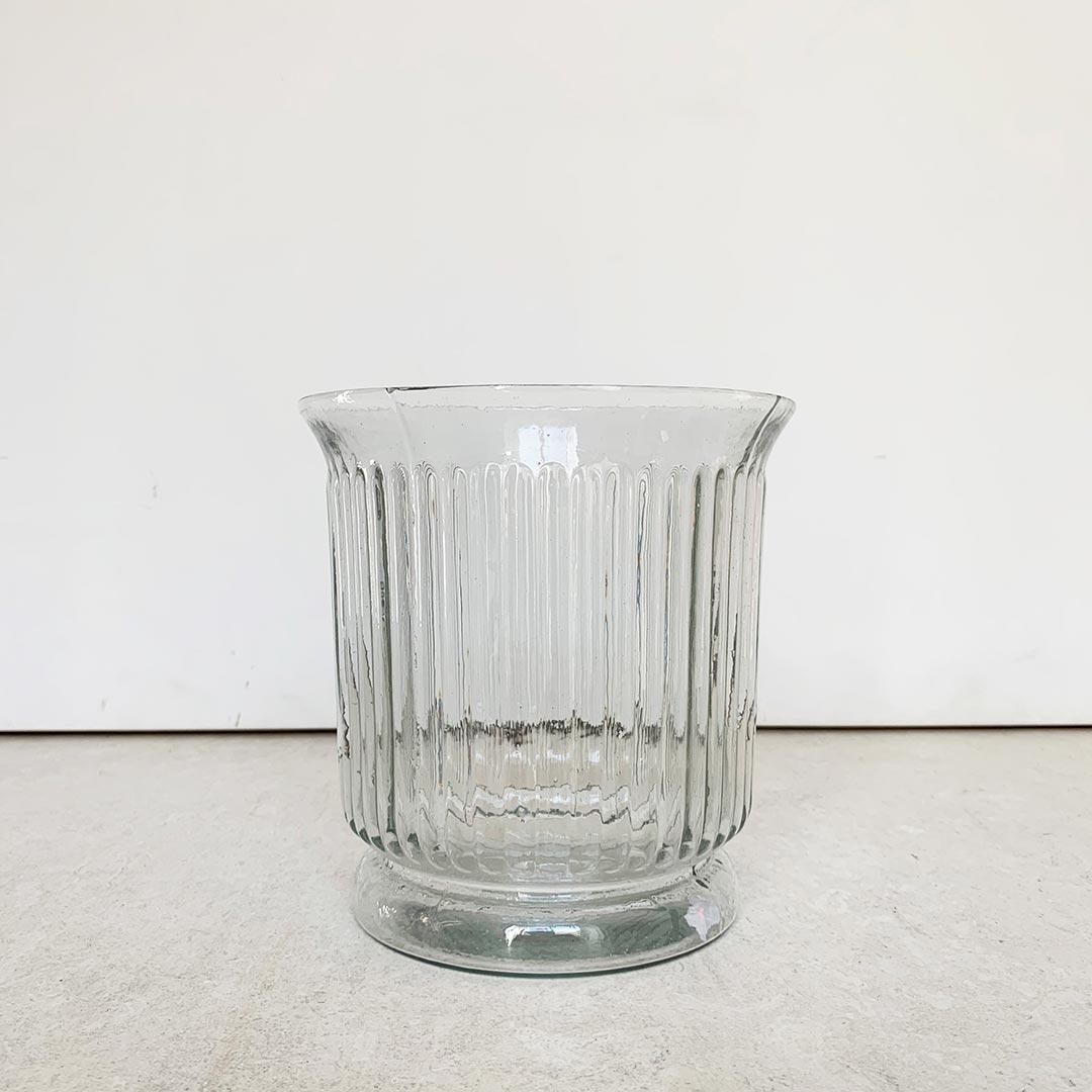 portavelas de cristal de diseño